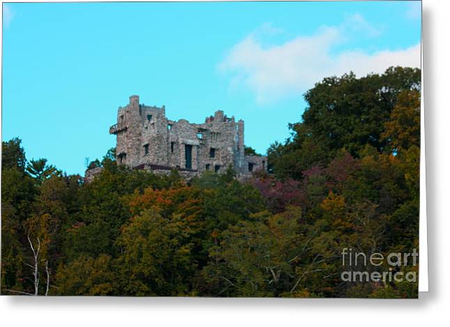 William Guillette Castle Greeting Card