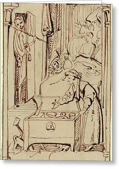 William Henry Brooke After Hieronymus Bosch British Greeting Card