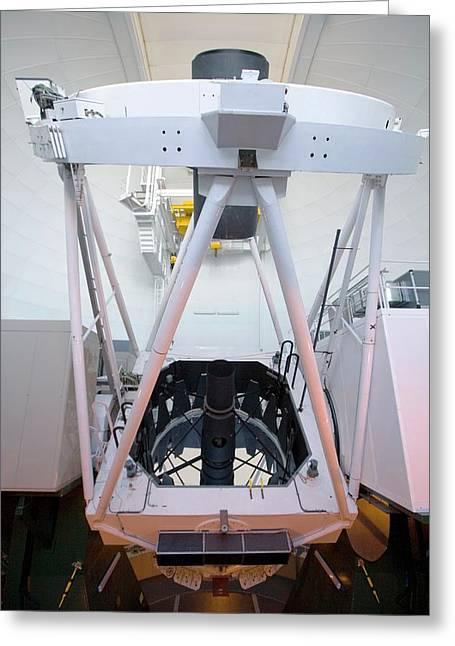 William Herschel Telescope Greeting Card by Adam Hart-davis/science Photo Library