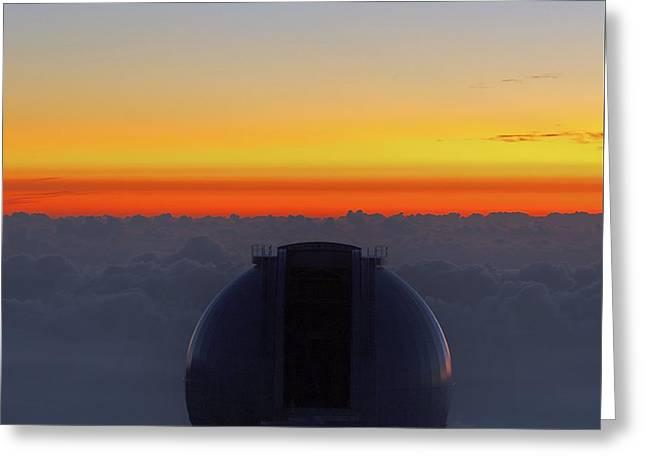 William Herschel Telescope Greeting Card by Babak Tafreshi