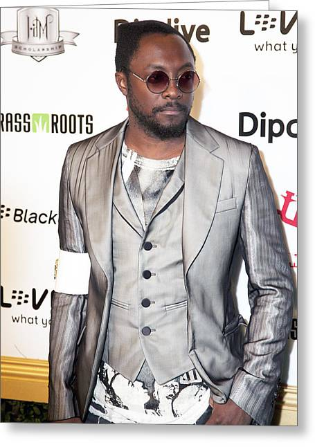 Will.i.am Greeting Card