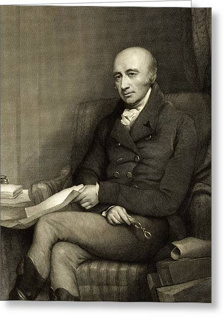 William Hyde Wollaston, British Chemist Greeting Card by Science Photo Library