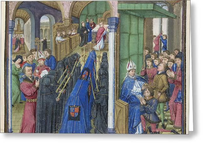 William I And William II Greeting Card