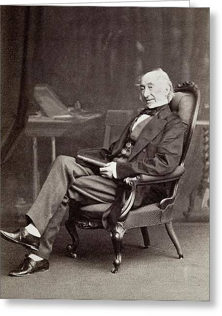 William Jackson Hooker Greeting Card by Paul D Stewart