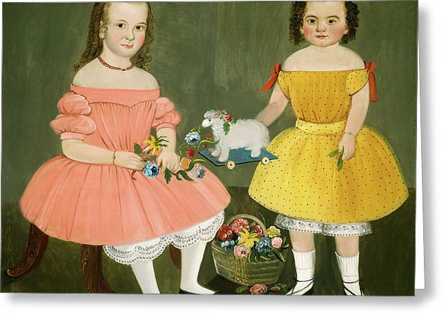 William Matthew Prior, The Burnish Sisters Greeting Card