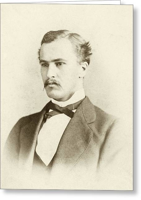 William Osler As A Medical Student Greeting Card by National Library Of Medicine