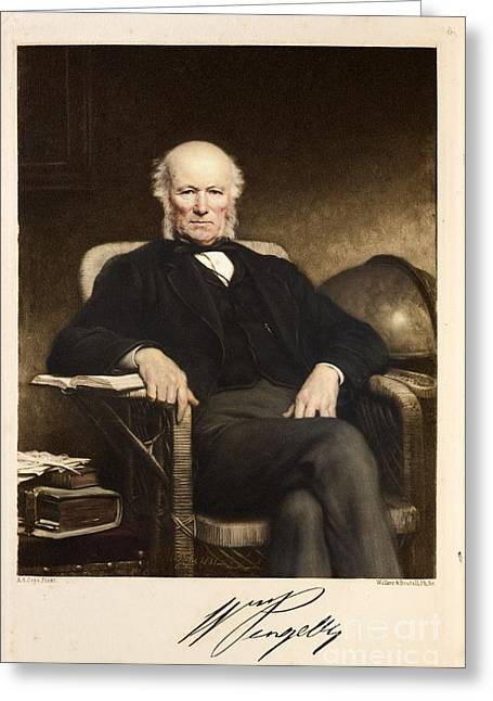 William Pengelly, British Geologist Greeting Card by Paul D. Stewart