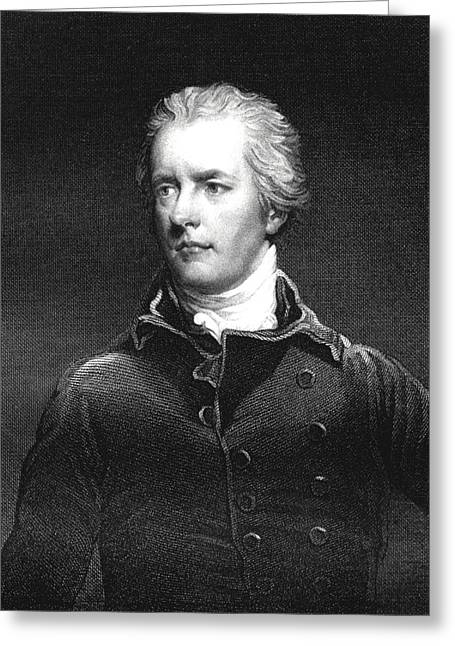 William Pitt Greeting Card by Collection Abecasis
