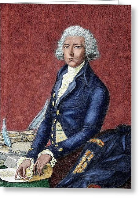 William Pitt (london 1708-hayes, 1778 Greeting Card