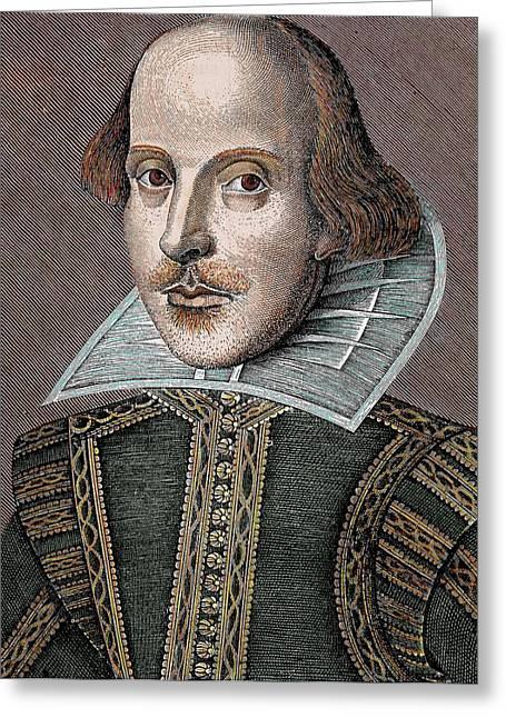 William Shakespeare (stratford-on-avon Greeting Card by Prisma Archivo