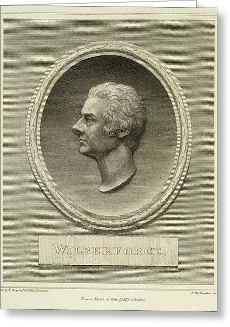 William Wilberforce Greeting Card by British Library