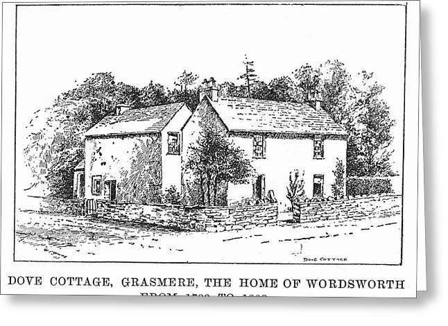 William Wordsworth  English Poet's Greeting Card