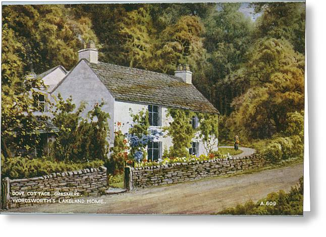 William Wordsworth  His Home, Dove Greeting Card
