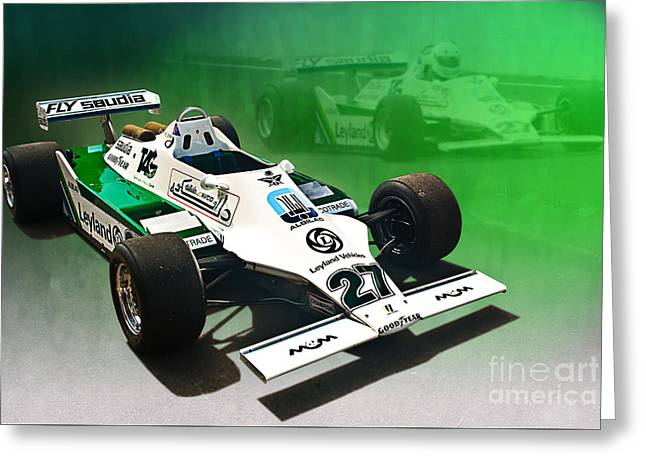 Williams Fw07 04 Greeting Card