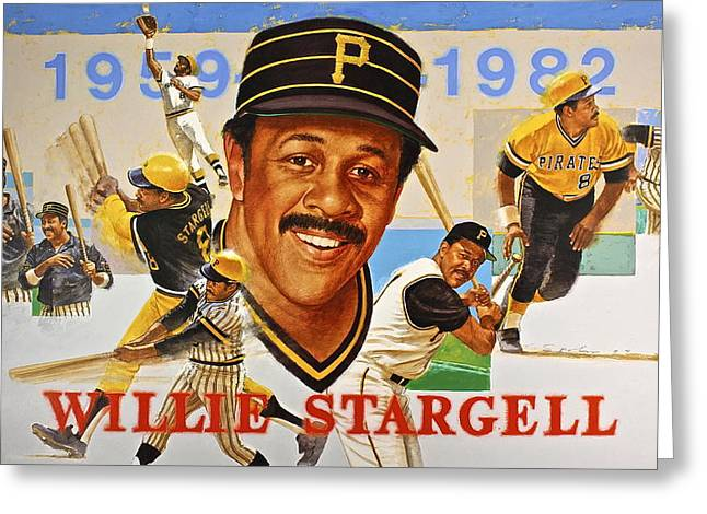 Willie Stargell Greeting Card
