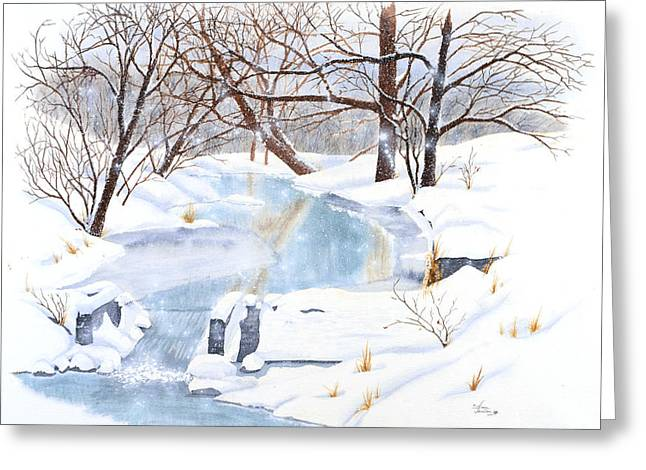 Willowood Winter Greeting Card