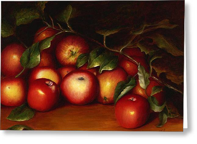 Wilmarth's Apples Greeting Card