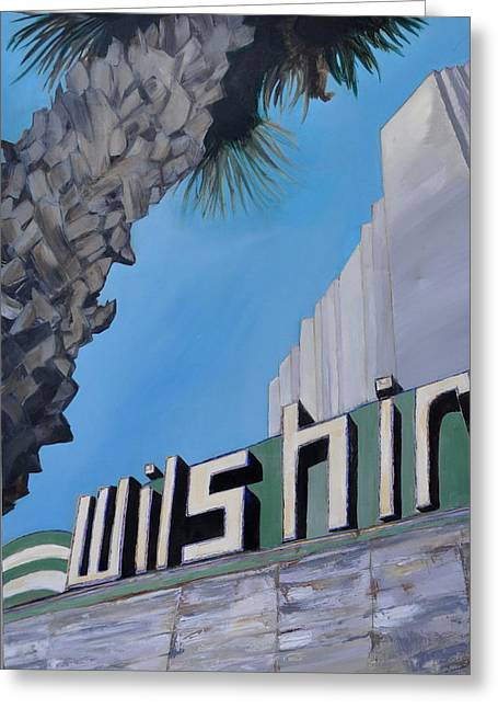 Wilshire Greeting Card