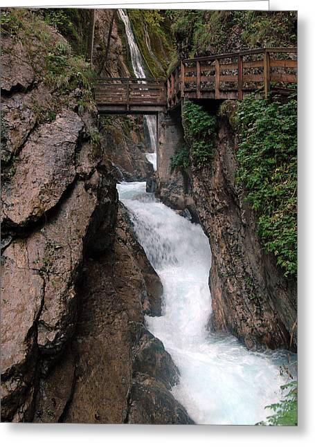 Wimbachklamm Ramsau Germany Greeting Card