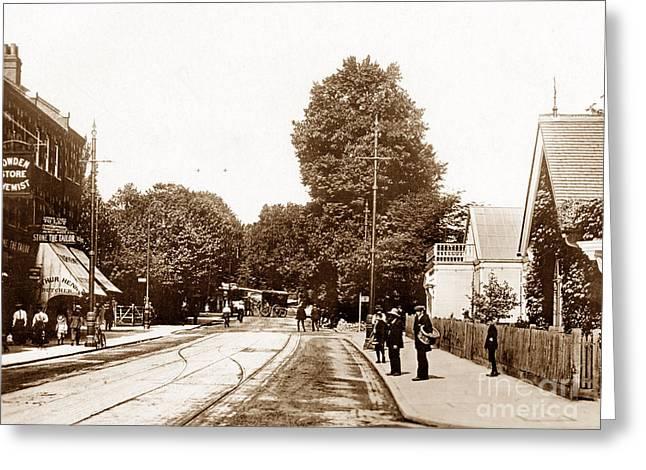 Wimbledon Hill London England Greeting Card by The Keasbury-Gordon Photograph Archive