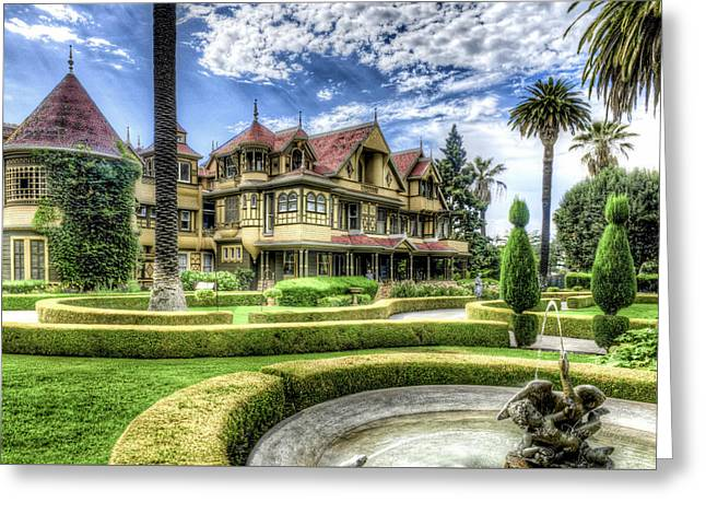 Winchester Mystery House Greeting Card