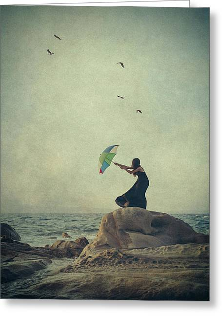 Wind Catcher Greeting Card