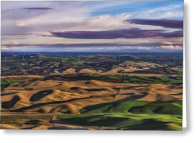 Wind Greeting Card by Ryan Manuel
