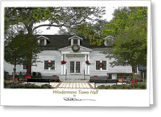 Windermere Town Hall Greeting Card