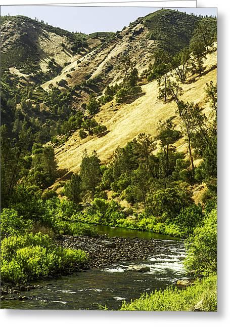 Winding Stream-yosemite-series 01 Greeting Card by David Allen Pierson