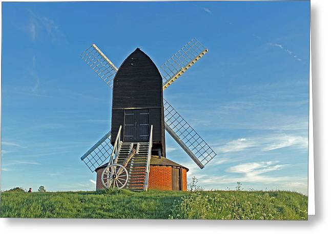 Windmill At Brill Greeting Card