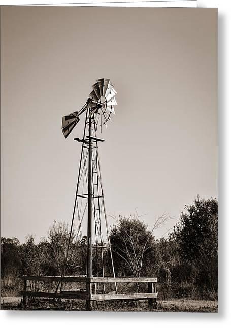 Windmill Circle B Bar Reserve Greeting Card
