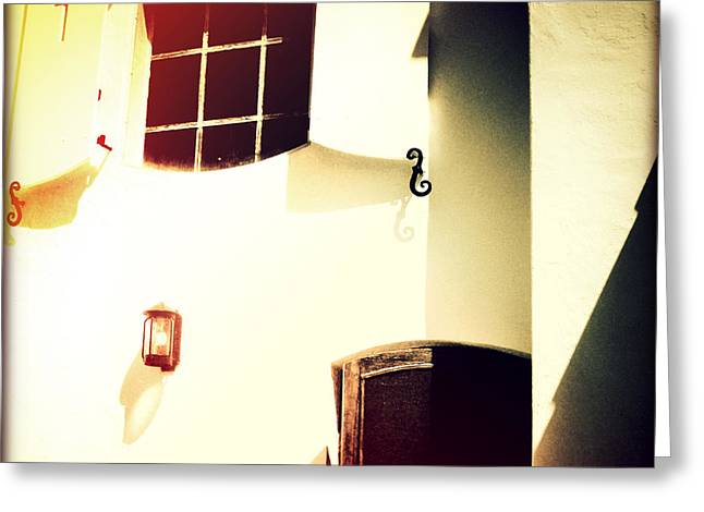 Window Of Hope II Sunset Greeting Card