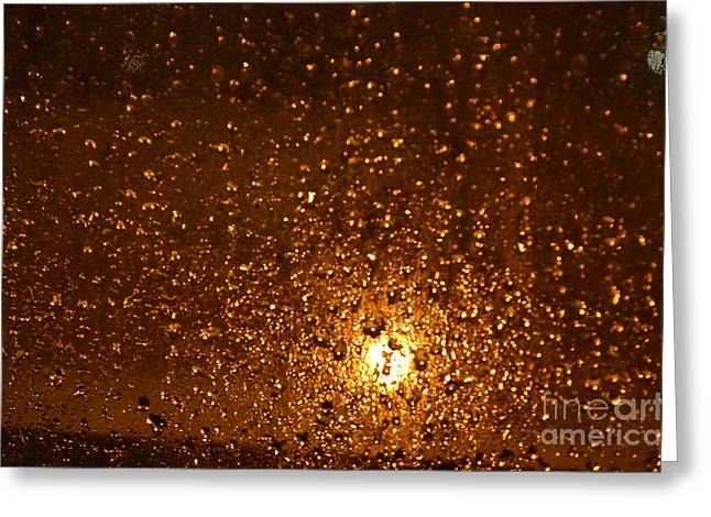 Window Pain Vitoria Spain Greeting Card by Ty Cook
