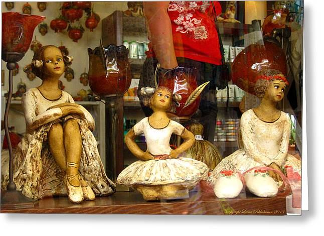 Greeting Card featuring the photograph Window Shopping by Leena Pekkalainen