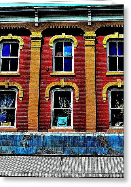 Window Stages - Canada Greeting Card