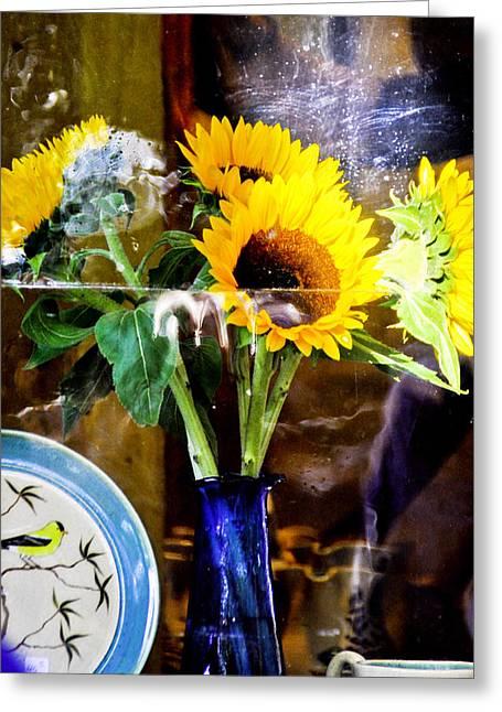 Window Still Life Greeting Card by James Black