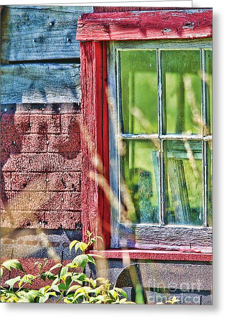 Window Story Greeting Card