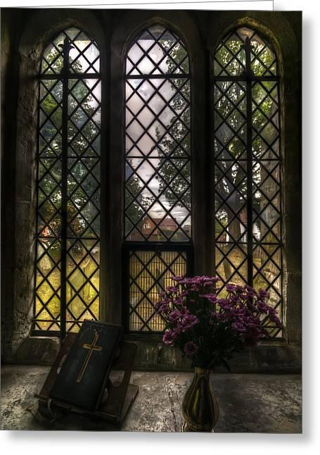 Window To God Greeting Card
