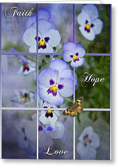 Window To Life Greeting Card by Bonnie Barry
