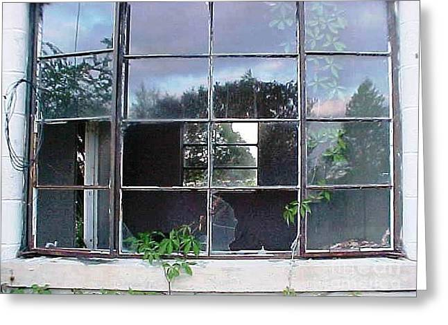 Window To Other Dimensions  Greeting Card by Robert Stagemyer