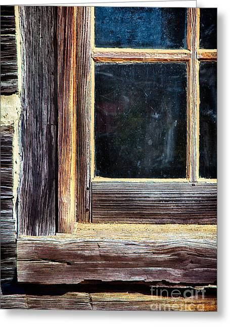 Window To The Past Greeting Card by Dan Carmichael