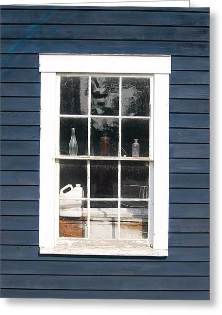 Window To The Past Greeting Card by Ernest Puglisi