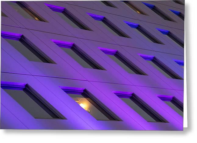 Windows 17 Greeting Card by Nicholas Blackwell