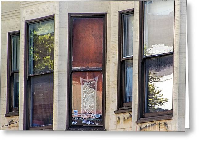 Greeting Card featuring the photograph Windows by Kate Brown