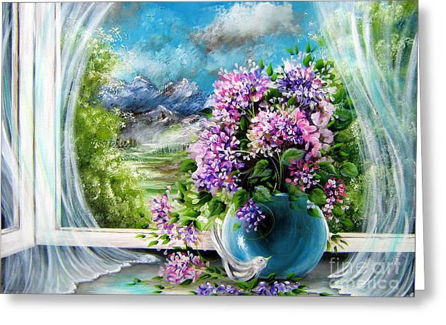 Windows Of My World Greeting Card