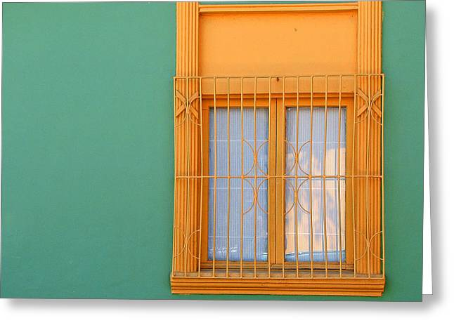 Greeting Card featuring the photograph Windows Of The World - Santiago Chile by Rick Locke