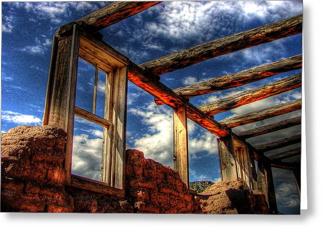 Windows To The Past Greeting Card by Timothy Bischoff