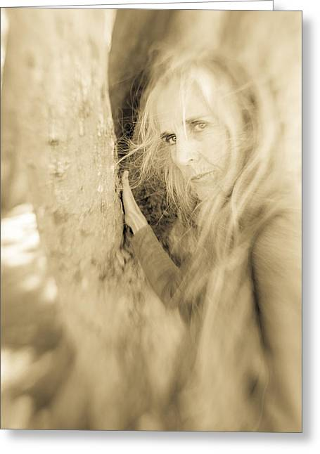 Windows To The Soul Greeting Card by Nancy Taylor