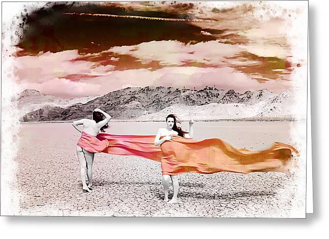 Winds Of Change Greeting Card by Ken Evans