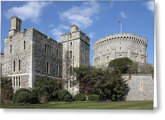 Windsor Castle Greeting Card by Phil Stone